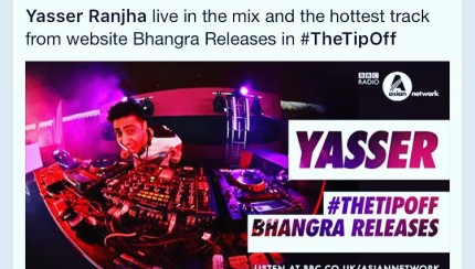 bbc asiannetwork bhangra releases