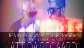 Harj Nagra ft Benny Dhaliwal - Jatt Da Record (Out Now)
