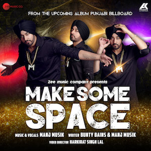 Manj Musik - Make Some Space (Out Now)
